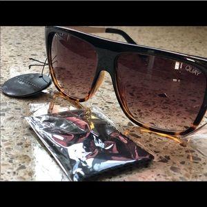Quay x Desi Perkins OTL sunglasses in tortoise